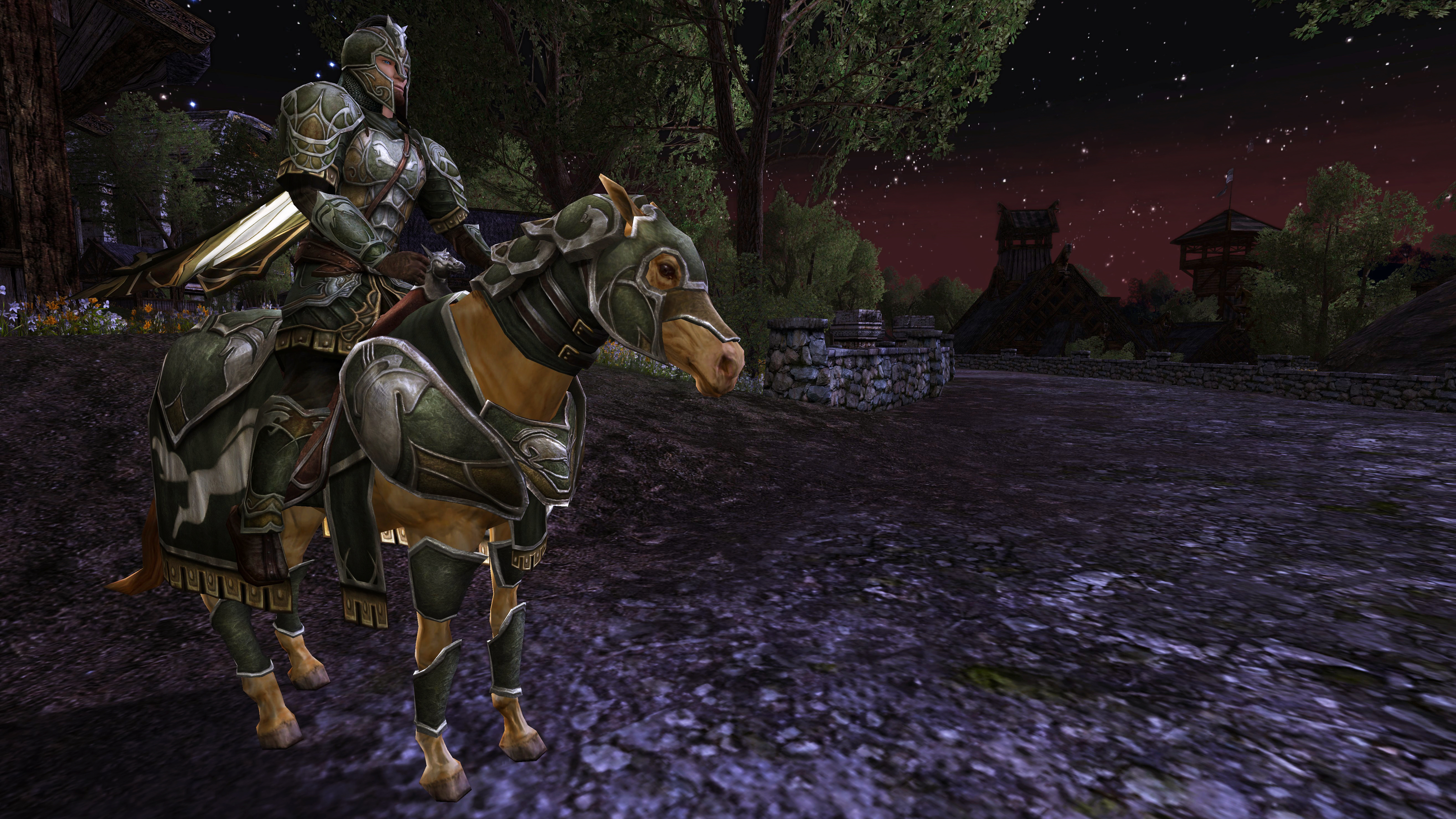 Rohan Pre-Purchase Armor and Steed