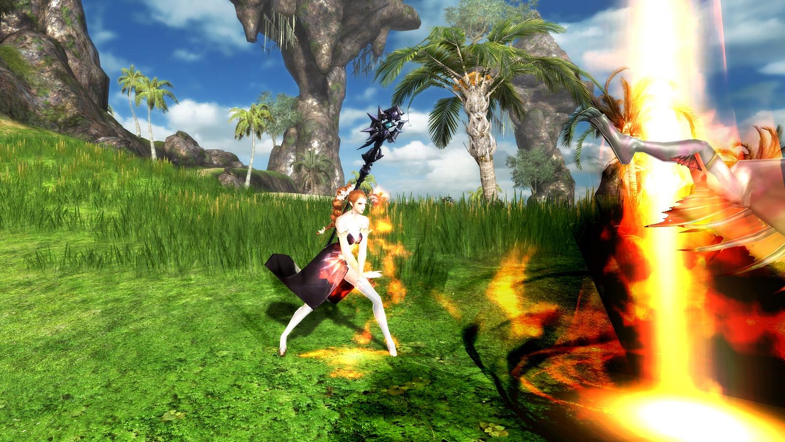 DK Online_Sorceress Fire