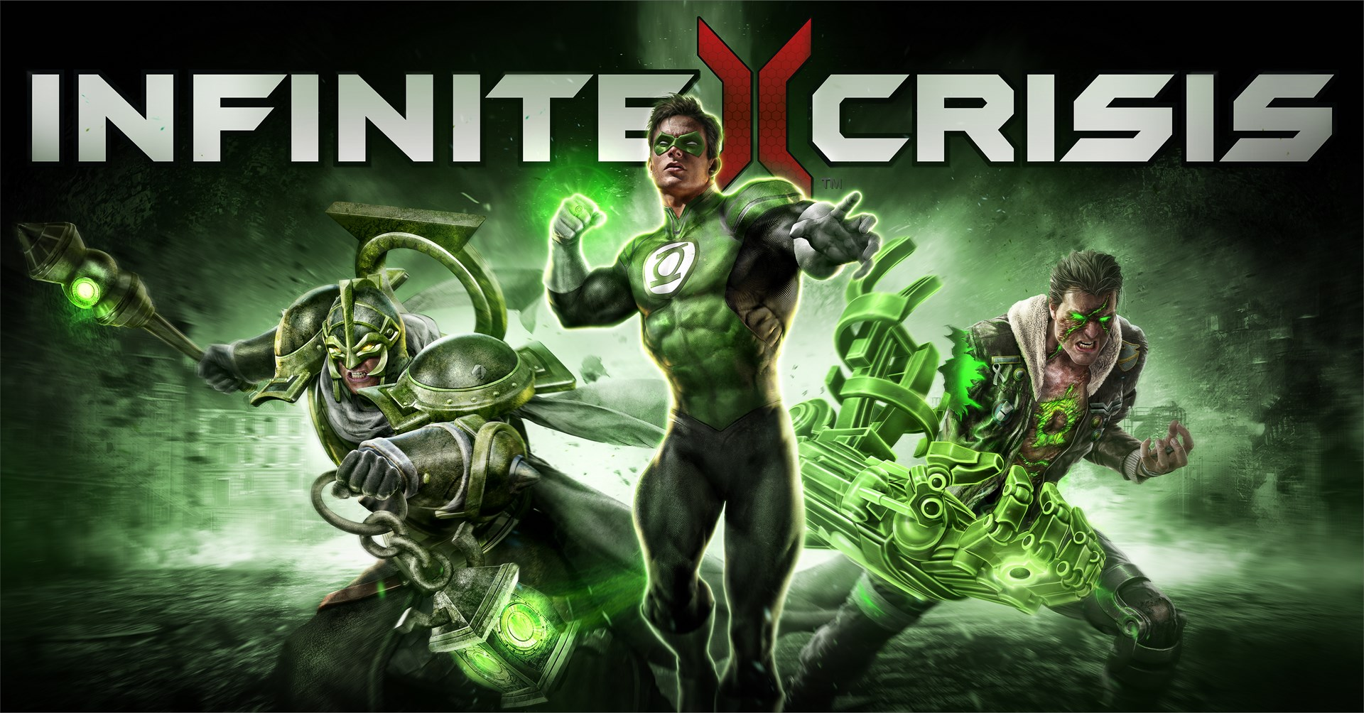 Infinite Crisis – Green Lantern key art