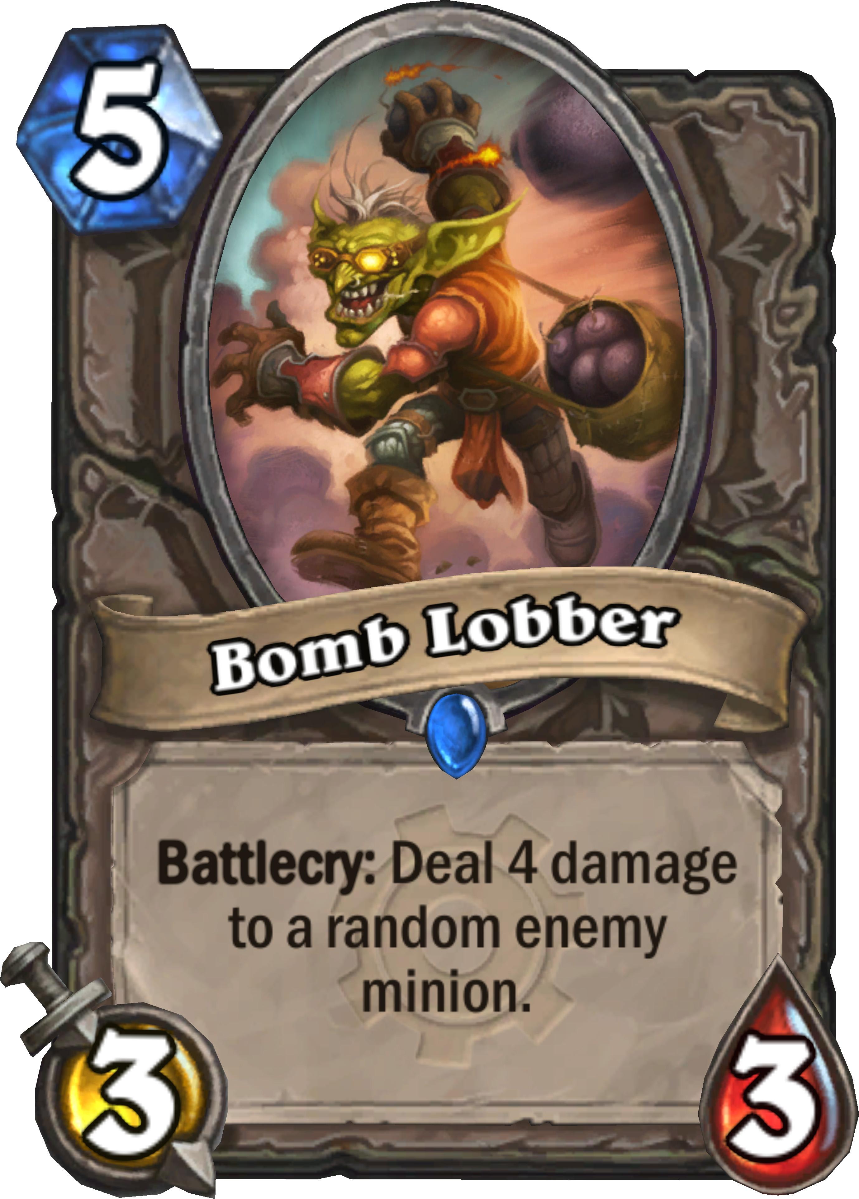 BOMB LOBBER