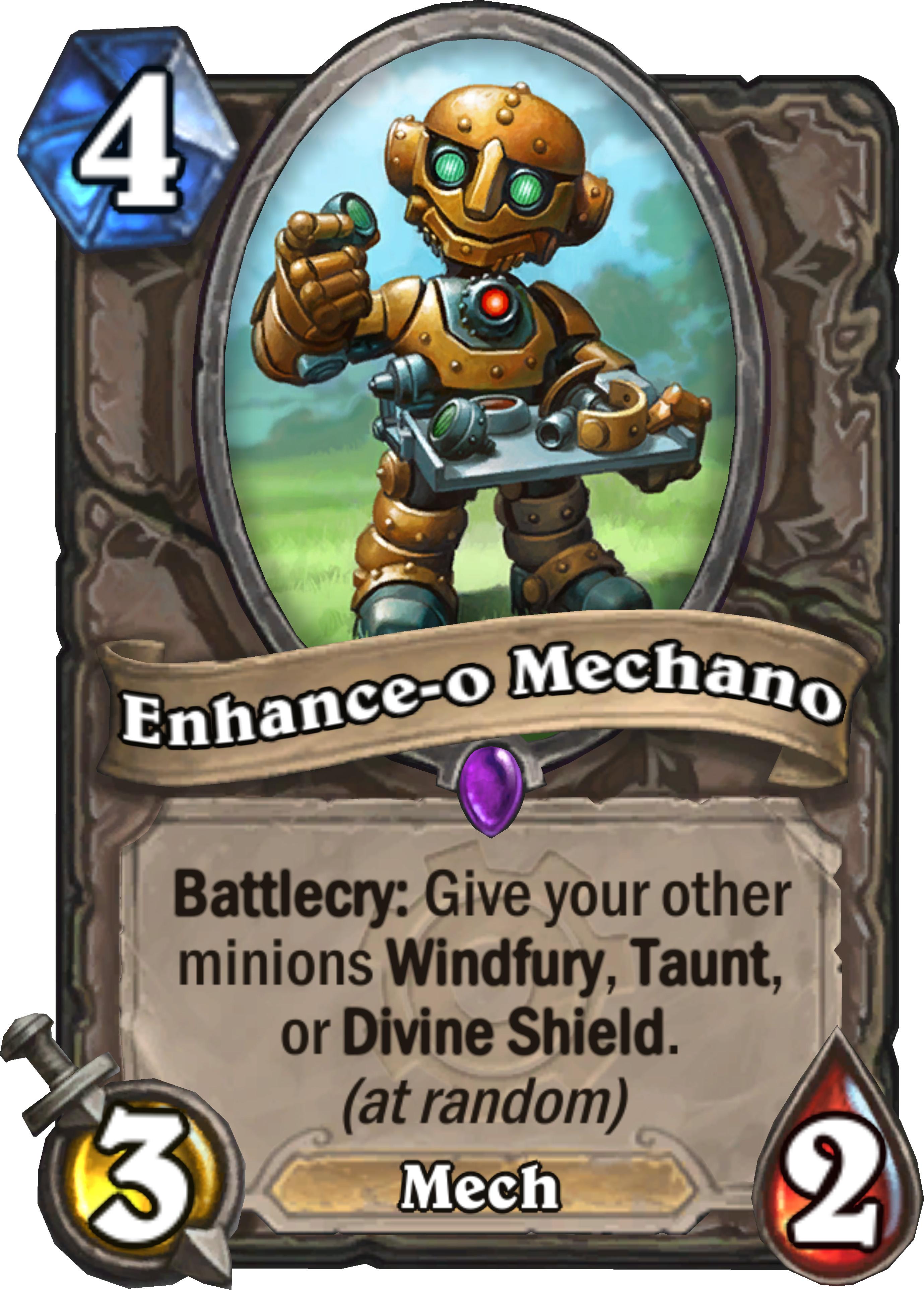 ENHANCE-O-MECHANO