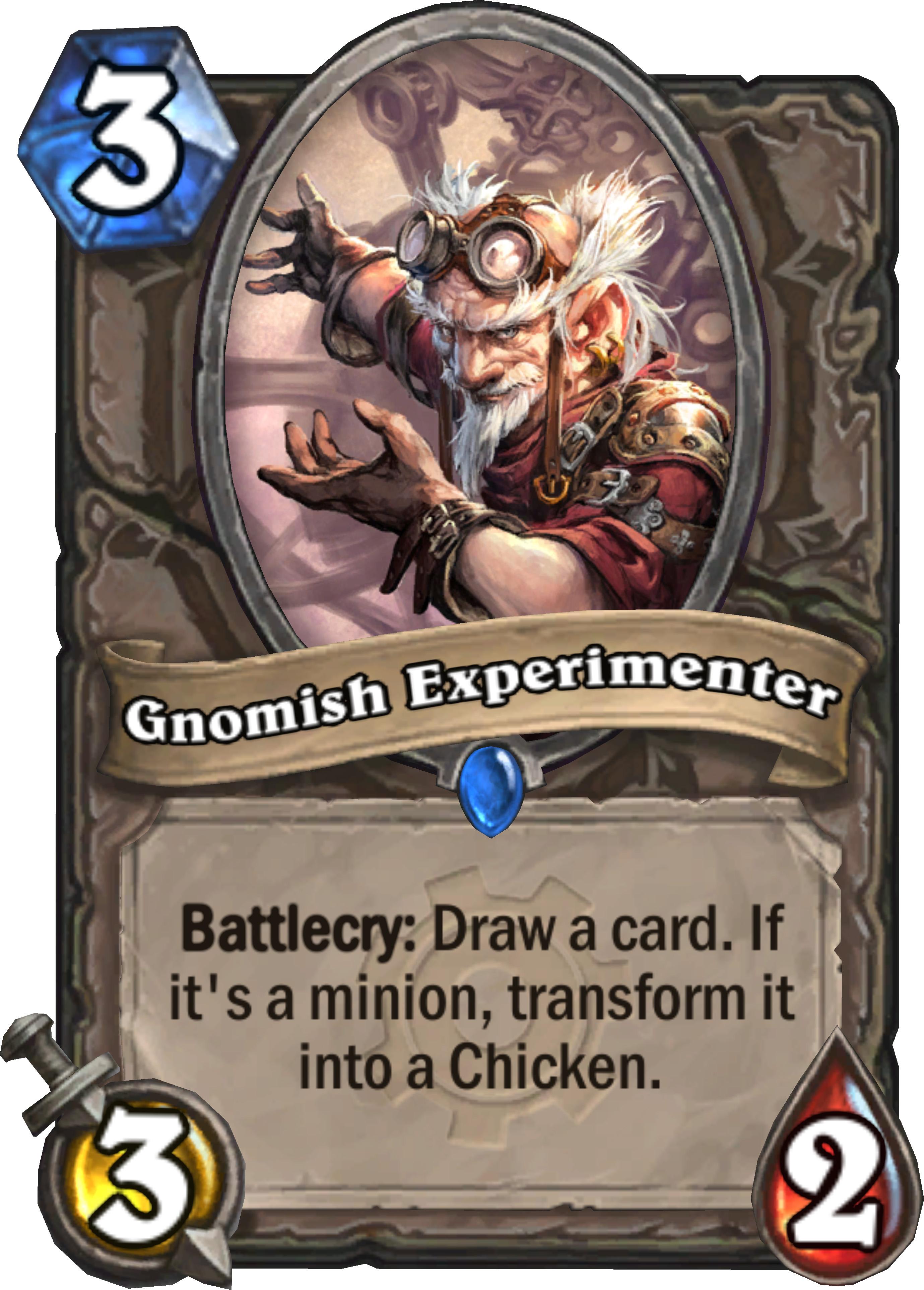 GNOMISH EXPERIMENTER