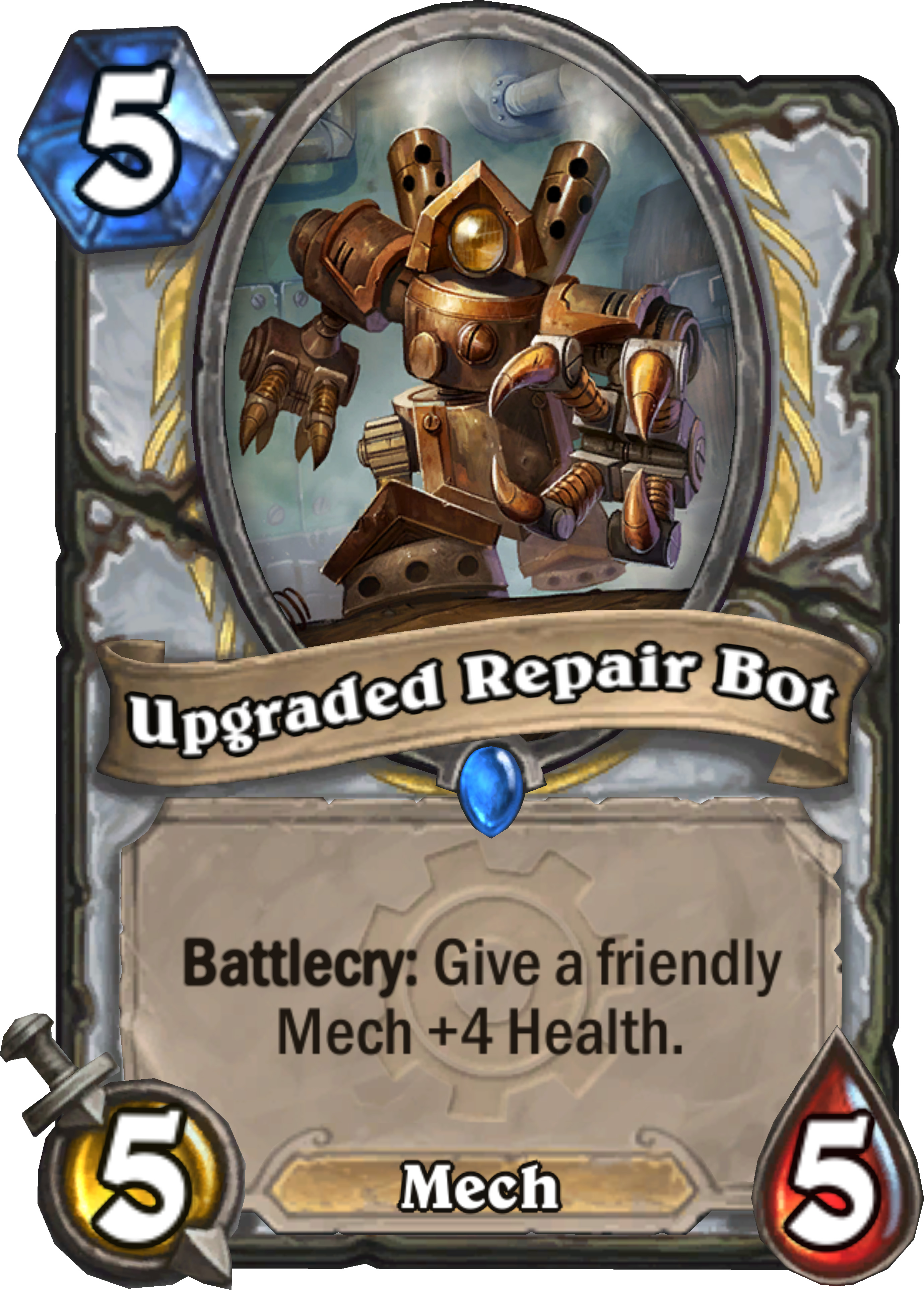 UPGRADED REPAIR BOT